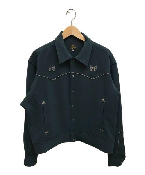 Needles(ニードルズ)Needles (ニードルズ) PIPING COWBOY JACKET グリーン サイズ:Mの古着・服飾アイテム