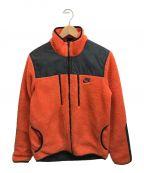 NIKE()の古着「ボアジャケット」|オレンジ