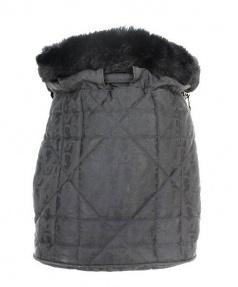 Christian Dior(クリスチャン ディオール)の古着「カナージュステッチトロッターリュック」 ブラック