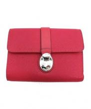 TUMI(トゥミ)の古着「2つ折り財布」|ショッキングピンク