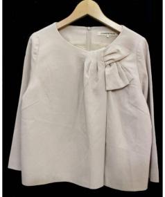 STRAWBERRY FIELDS(ストロベリーフィールズ)の古着「スカートスーツ」|ベージュ