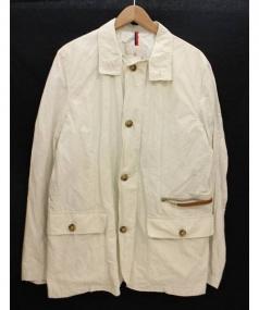 MONCLER(モンクレール)の古着「ナイロンジャケット」|ホワイト