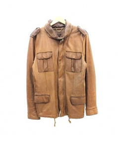 SISII(シシ)の古着「M65レザージャケット」|ブラウン