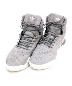 adidas(アディダス)の古着「ハイカットスニーカー」 グレー