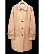 23区(ニジュウサンク)の古着「ギザコットンギャバトレンチコート」|ピンク