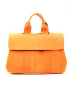 HERMES(エルメス)の古着「ハンドバッグ」|オレンジ