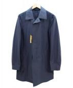 COMME CA MEN(コムサメン)の古着「ハイゲージジャージーコート」 ネイビー