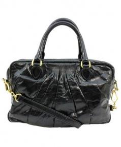MIU MIU(ミュウミュウ)の古着「2WAYショルダーバッグ」|ブラック