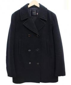 UNDER COVER(アンダーカバー)の古着「メルトンコート」 ブラック