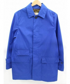 Traditional Weatherwear(トラディショナルウェザーウェア)の古着「ステンカラーコート」|ブルー