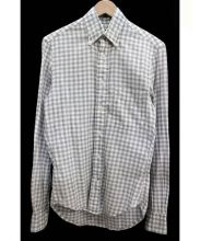 GITMAN BROS VINTAGE(ギットマンヴィンテージ)の古着「ボタンダウンシャツ」|グレー×ホワイト