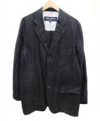 COMME des GARCONS HOMME(コムデギャルソンオム)の古着「リネン3Bテーラードジャケット」