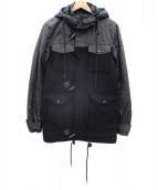 ELEVEN PARIS(イレブン・パリ)の古着「切替コート」|ブラック