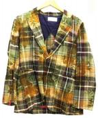 THE RIVER(ザ・リバー)の古着「テーラードジャケット」|マルチカラー