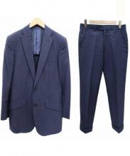 RICHARD JAMES(リチャードジェームズ)の古着「モヘヤ・シルク混セットアップスーツ」|ネイビー