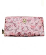 ANNA SUI(アナスイ)の古着「エナメル財布」|ピンク