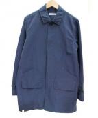 DELUXE(デラックス)の古着「ステンカラーコート」|ネイビー