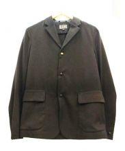 BLUE WORK(ブルーワーク)の古着「スナップボタンジャケット」|ブラック