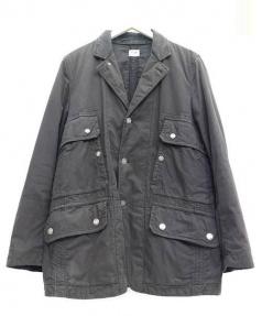 C.P COMPANY(シーピーカンパニー)の古着「ミリタリージャケット」|ブラック