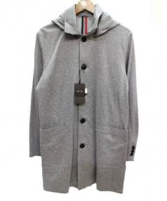COMME CA MEN(コムサメン)の古着「ステンカラーコート」|グレー