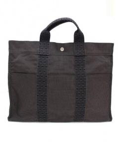 HERMES(エルメス)の古着「トートバッグ」|グレー×ブラック