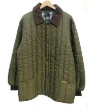 Barbour(バブアー)の古着「中綿ナイロンジャケット」|オリーブ