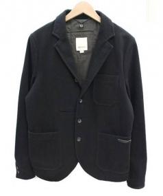 DIESEL(ディーゼル)の古着「ウール混4Bジャケット」|ブラック