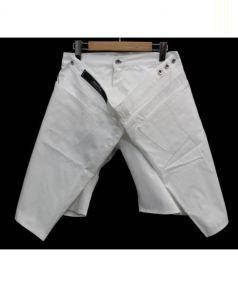 ANREALAGE(アンリアレイジ)の古着「ラップハーフパンツ」|ホワイト