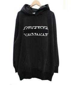 ANREALAGE(アンリアレイジ)の古着「オーバーサイズプルオーバーパーカー」|ブラック