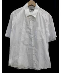 ANREALAGE(アンリアレイジ)の古着「スパイラル半袖シャツ」|ホワイト