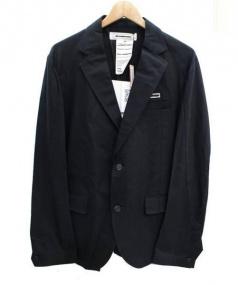 ANREALAGE(アンリアレイジ)の古着「スパイラル2Bジャケット」|ブラック