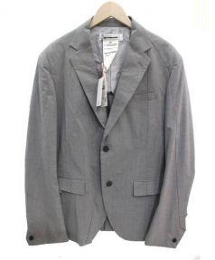 ANREALAGE(アンリアレイジ)の古着「スパイラル2Bジャケット」|グレー