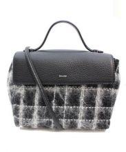BELLMER(ベルメール)の古着「ツイードショルダーバッグ」|ブラック