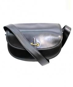 HERMES(エルメス)の古着「ヴィンテージショルダーバッグ」|ブラック