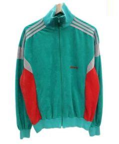 adidas(アディダス)の古着「ヴィンテージトラックジャケット」 グリーン