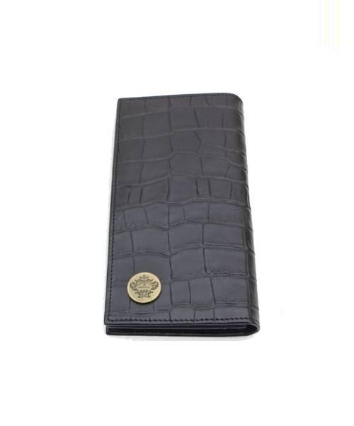 lowest price 86851 720e8 [中古]Orobianco(オロビアンコ)のメンズ 服飾小物 クロコ型押し2つ折り財布