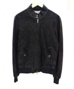 ARTISAN(アルチザン)の古着「ラムレザーブルゾン」|ブラック