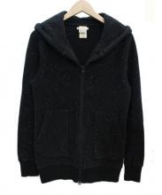 BRU NA BOINNE(ブルーナボイン)の古着「ジップパーカー」|ブラック