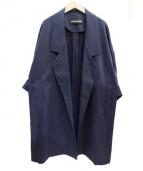 PEGGY LANA(ペギーラナ)の古着「コート」|ネイビー