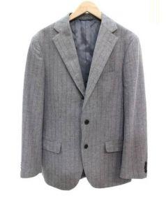 THE SUIT COMPANY×CARLO BARBERA(ザスーツカンパニー×カルロバルベラ)の古着「コラボセットアップスーツ」|グレー