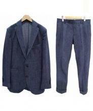 THE SUIT COMPANY(スーツカンパニー)の古着「セットアップスーツ」|ネイビー