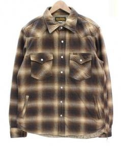 IRON HEART(アイアンハート)の古着「ウエスタンジャケット」|ブラウン