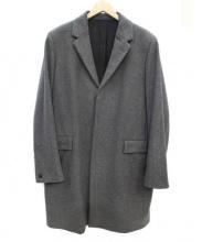A.P.C.(アーペーセー)の古着「比翼チェスターコート」|グレー