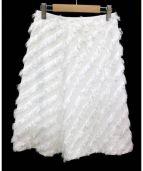 TOMORROW LAND(トゥモローランド)の古着「スカート」|ホワイト