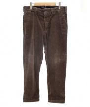 Engineered Garments(エンジニアードガーメンツ)の古着「コーデュロイパンツ」|ブラウン
