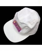 SUPREME(シュプリーム)の古着「Iridescent Logo Camp Cap」 ホワイト