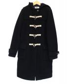 RITA JEANS TOKYO(リタジーンズトウキョウ)の古着「シープウールダッフルコート」|ブラック