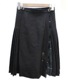 ONEIL OF DUBLIN×martinique(オニール オブ ダブリン×マルティニーク)の古着「コラボラップスカート」 グリーン