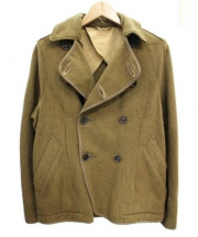 KAPITAL(キャピタル)の古着「ウールPコート」|オリーブ