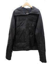 Y-3(ワイスリー)の古着「スタンドカラーダウンジャケット」|ブラック